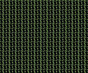 Pixel Chess Pattern - Knight