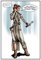 Rey In The Matrix by jdcooke2010
