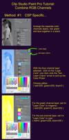 Clip Studio Paint Tutorial: Combine RGB Channels by jdcooke2010