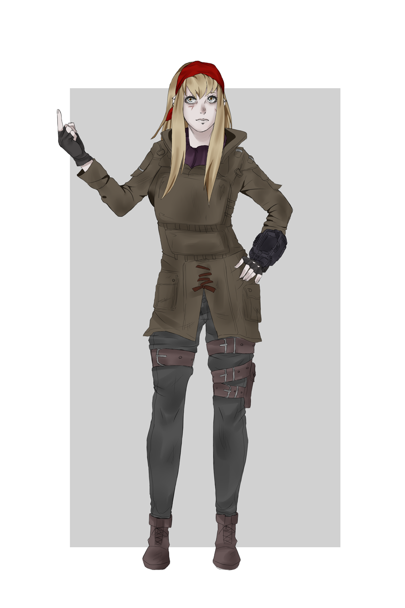 Fallout 4 Oc Lana Winters Normal Outfit By