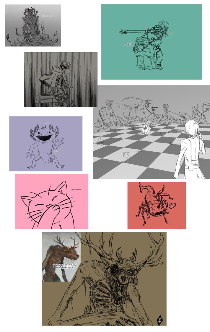 July 2015 - Random Art dump by Akatzki