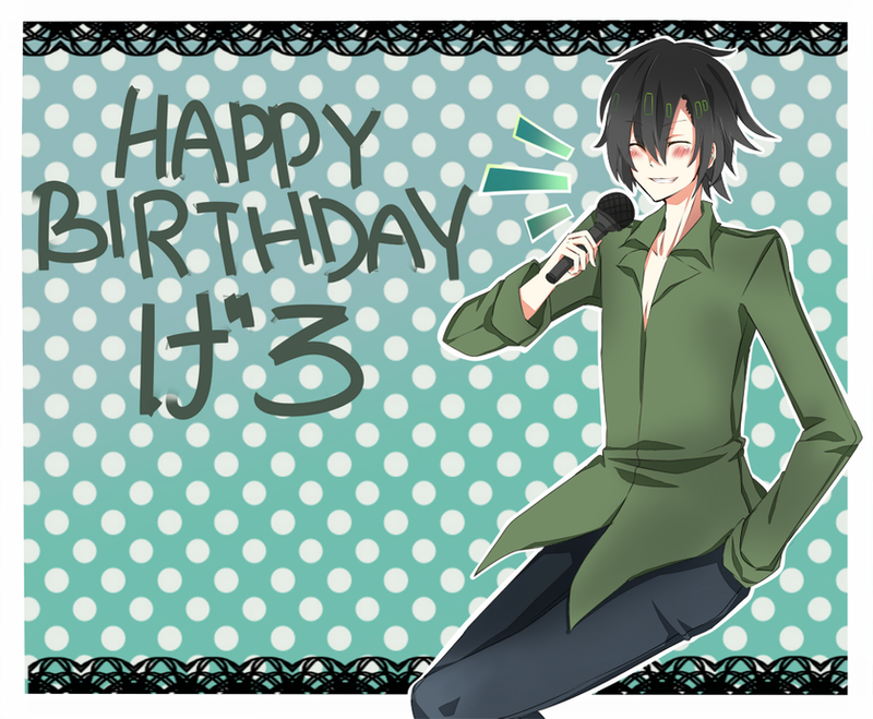 Happy Birthday GERO! by YOI-kun
