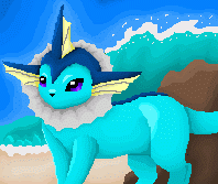 MS Paint Vaporeon by PacificPikachu