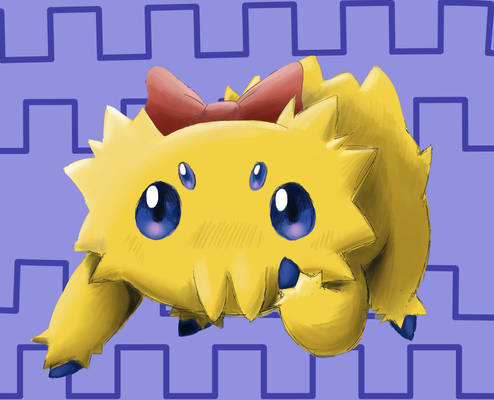 Joltik with Bow