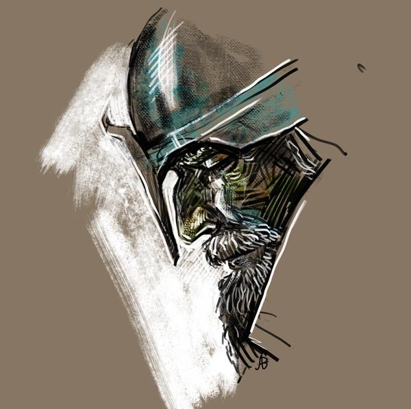 The knight by agvnr