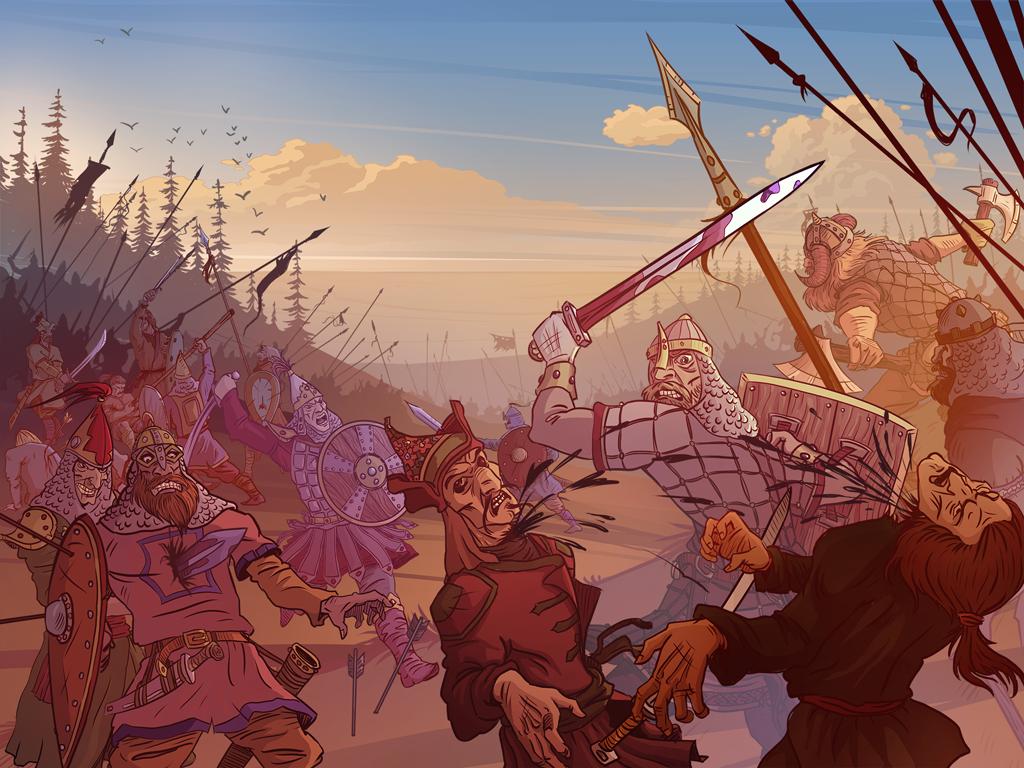 Battle of Bila Vezha (Sarkel) by agvnr