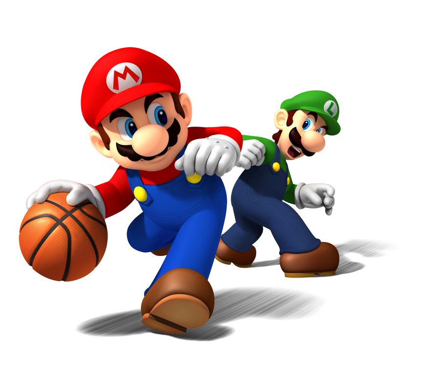 Mario Sports Mix Mario Luigi by AstroBoy122 on DeviantArt