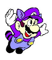 Mario Shows His Purple by AstroBoy122