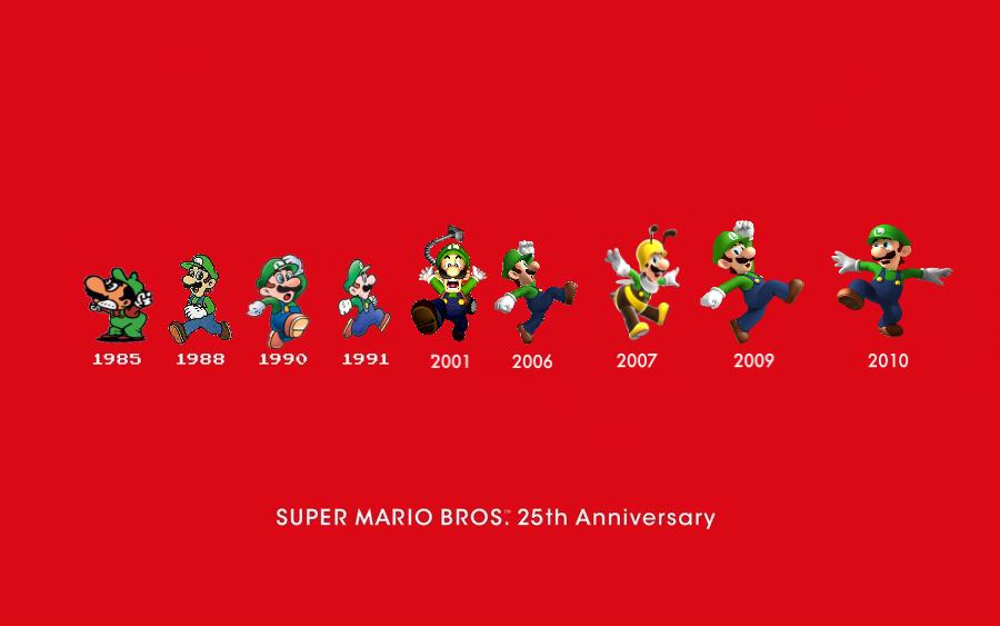 super mario bros 25th anniversary cartoon