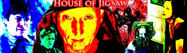 House of Jigsaw Banner Saw by museismymuse