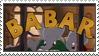 Babar Stamp by gunsweat
