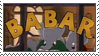 Babar Stamp by gunsweat