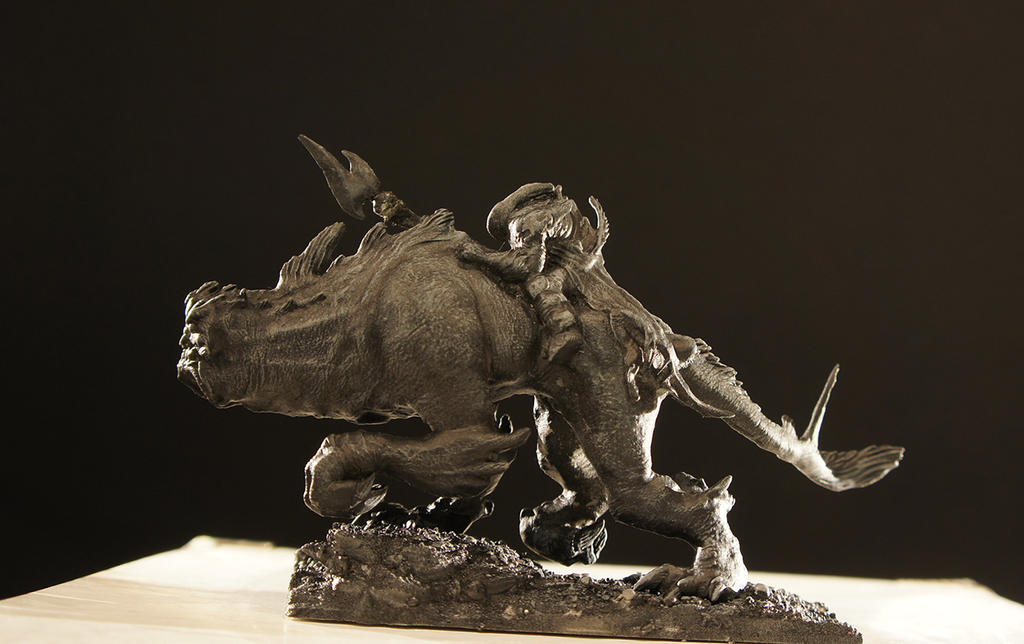 MonsterRider 3D print by LastofSeven
