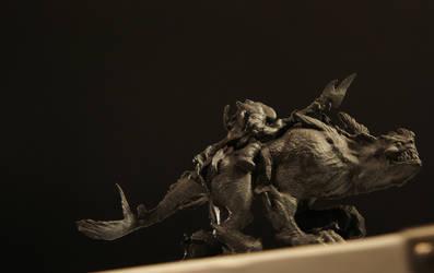 MonsterRider 3D print by LastofSeven