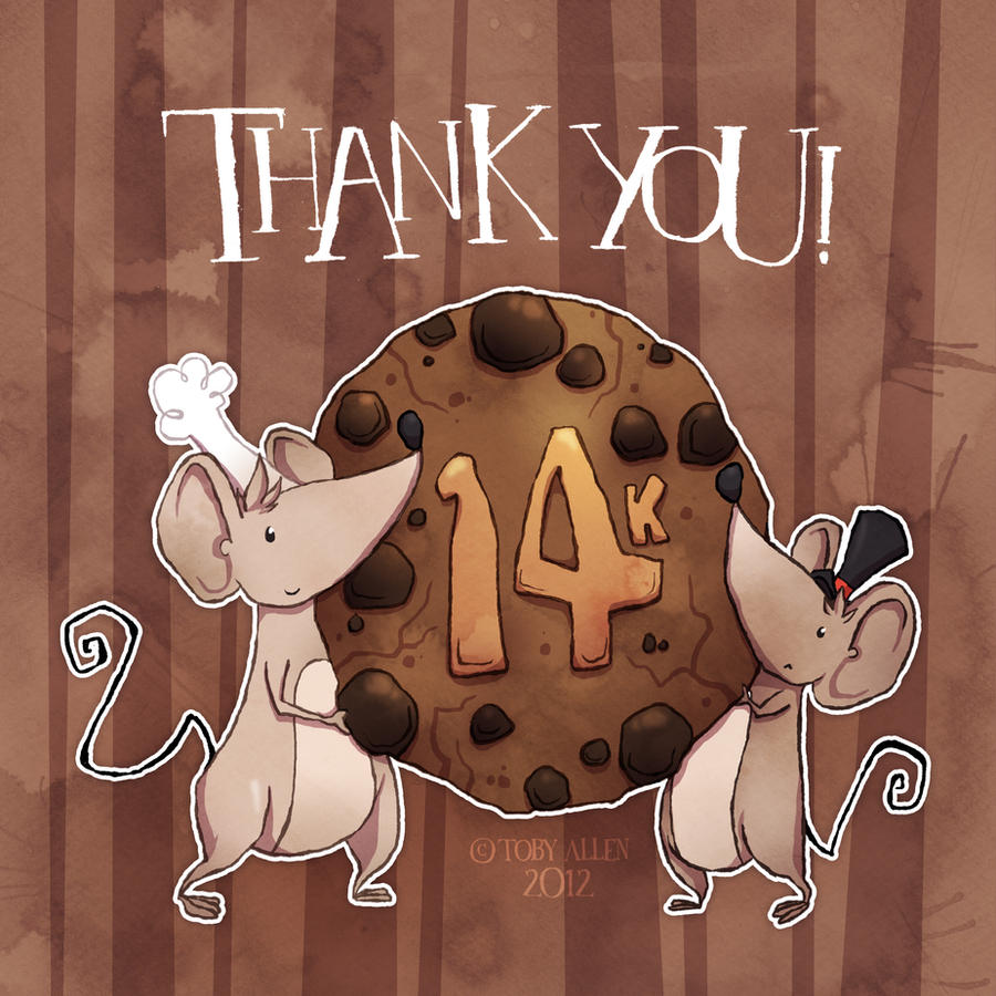 A 14k Thank You by ZestyDoesThings
