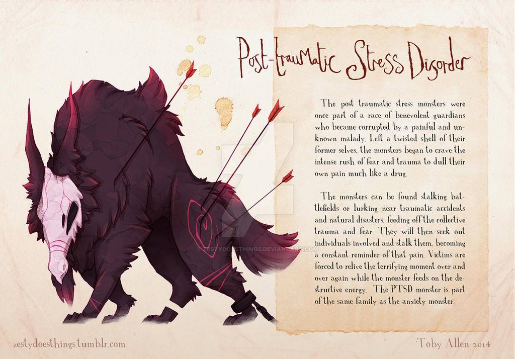 Real Monsters- PTSD by ZestyDoesThings