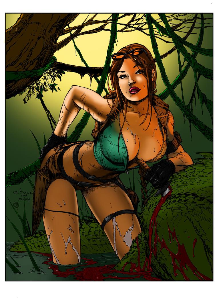 Tomb Raider by Elvenwyn
