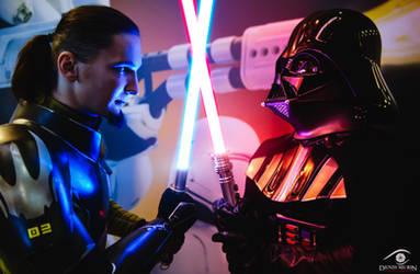 Darth Vader vs Kanan Jarrus