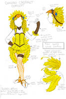 Chocobo Cabaret Concept by miezukuri