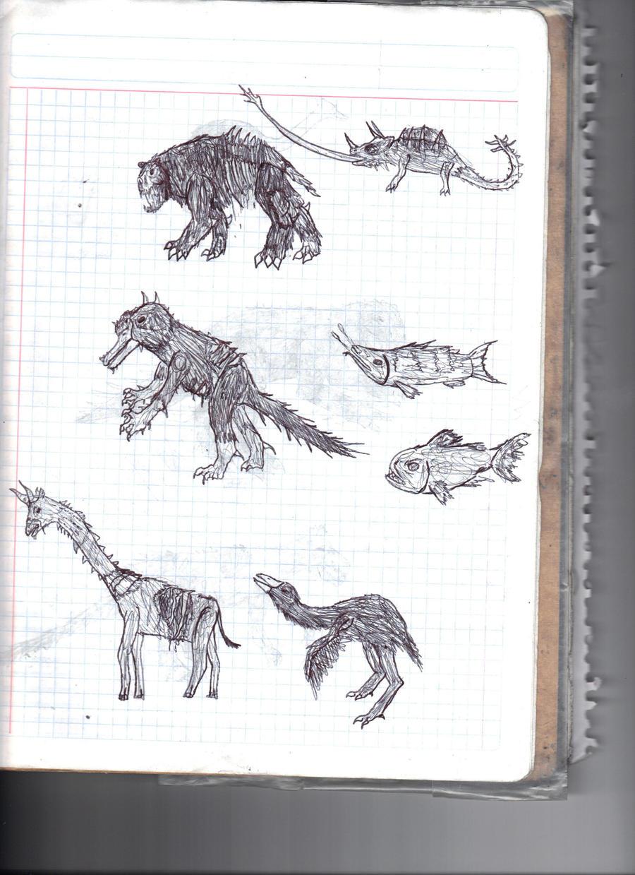 Zombie Animals 2 by Bunyupy on DeviantArt