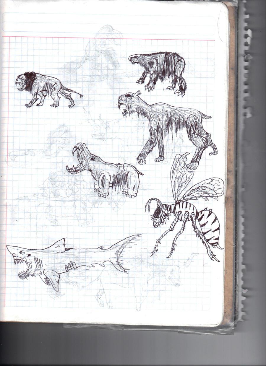 Zombie Animals 4 by Bunyupy on DeviantArt