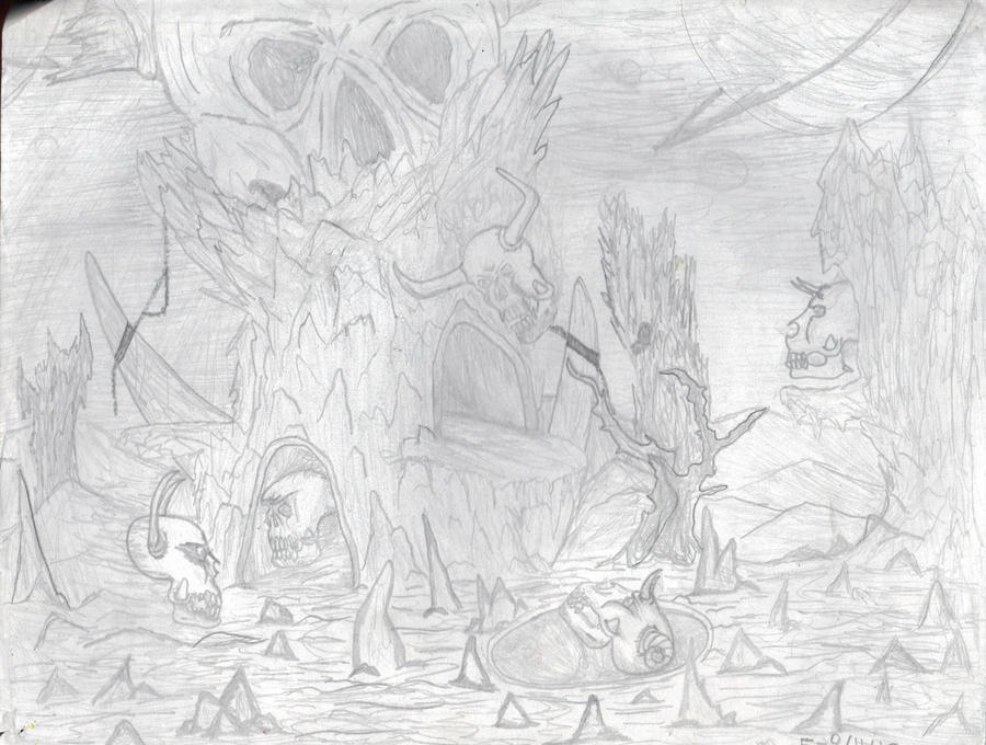 Lost Soul Doom Deviantart: DOOM Drawing: The Lost Soul By Bunyupy On DeviantArt