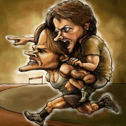 Run Mishalecki Run by vicious-sock