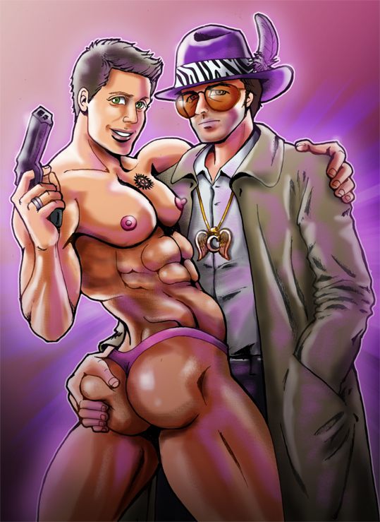Pimp Cas and his Ho by vicious-sock