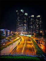 NIGHT SAIGON STREET