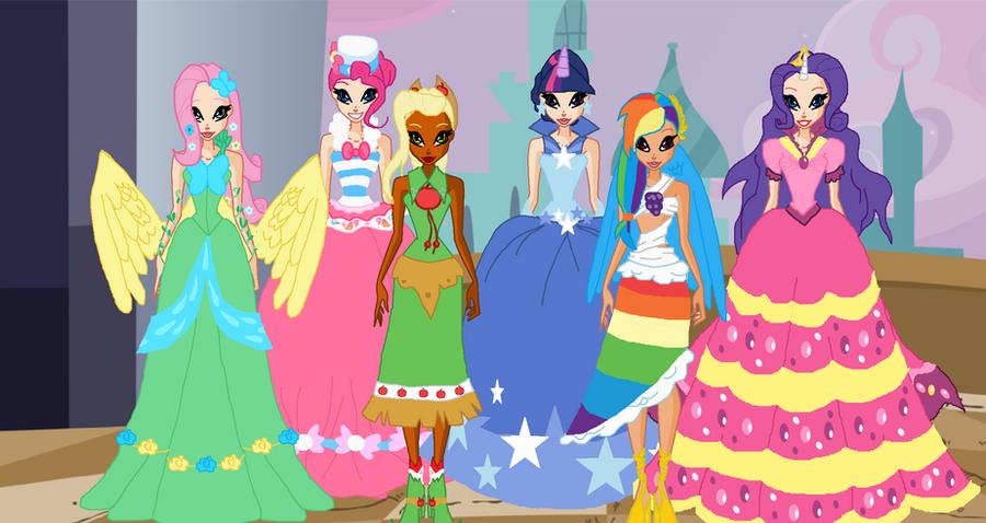 my little pony princess gala by nickinatla