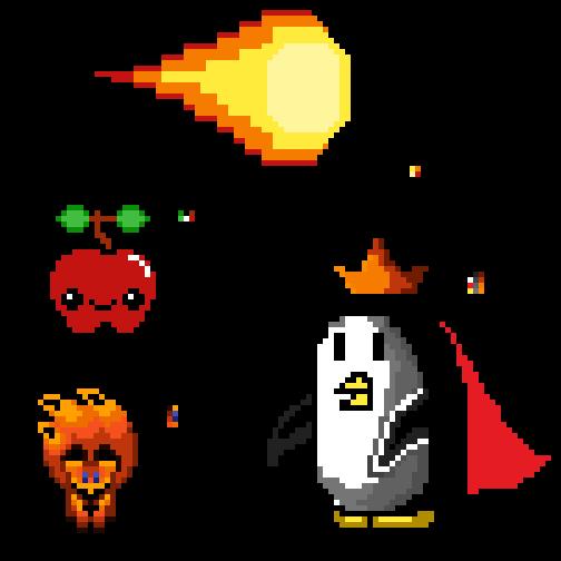 Study pixelart (#1) by r0ger27