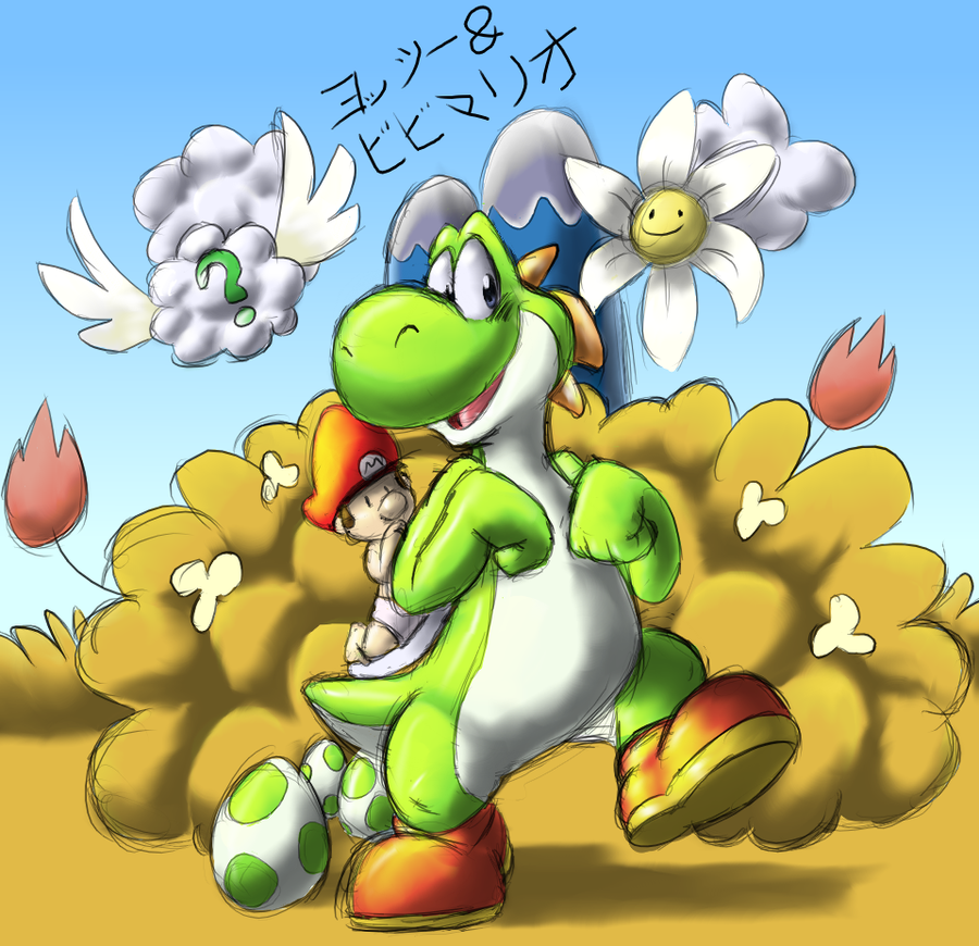 yossy and bebe mario by teh ray