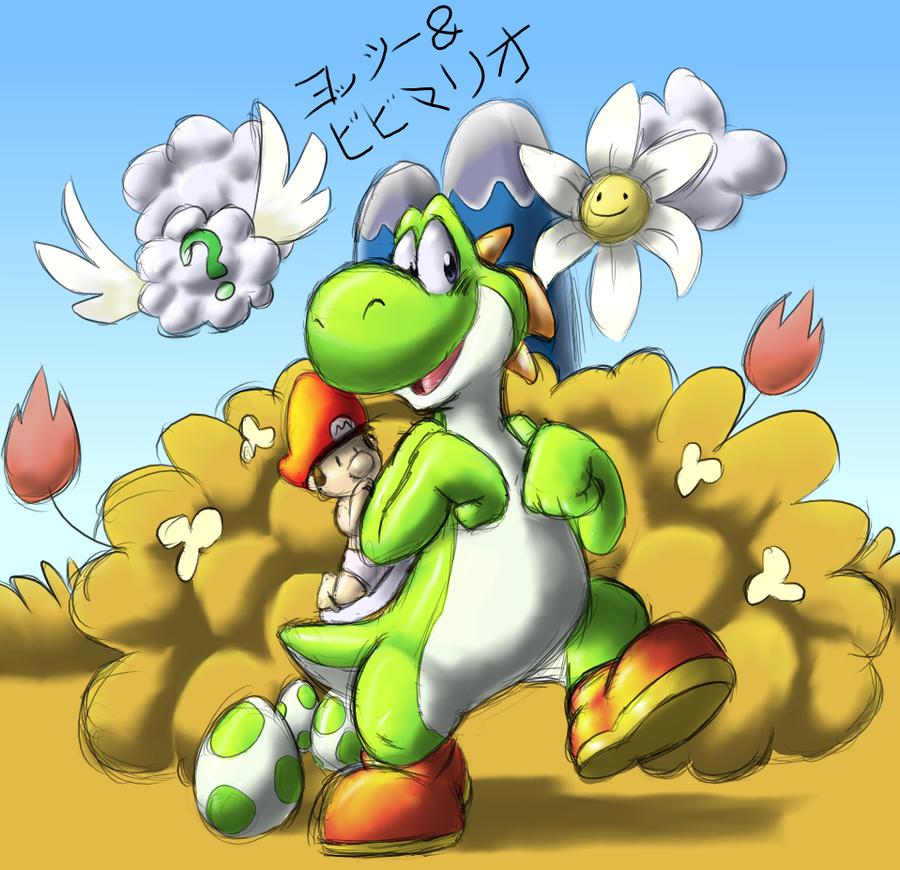 yossy and bebe mario by teh ray - Bebe Mario