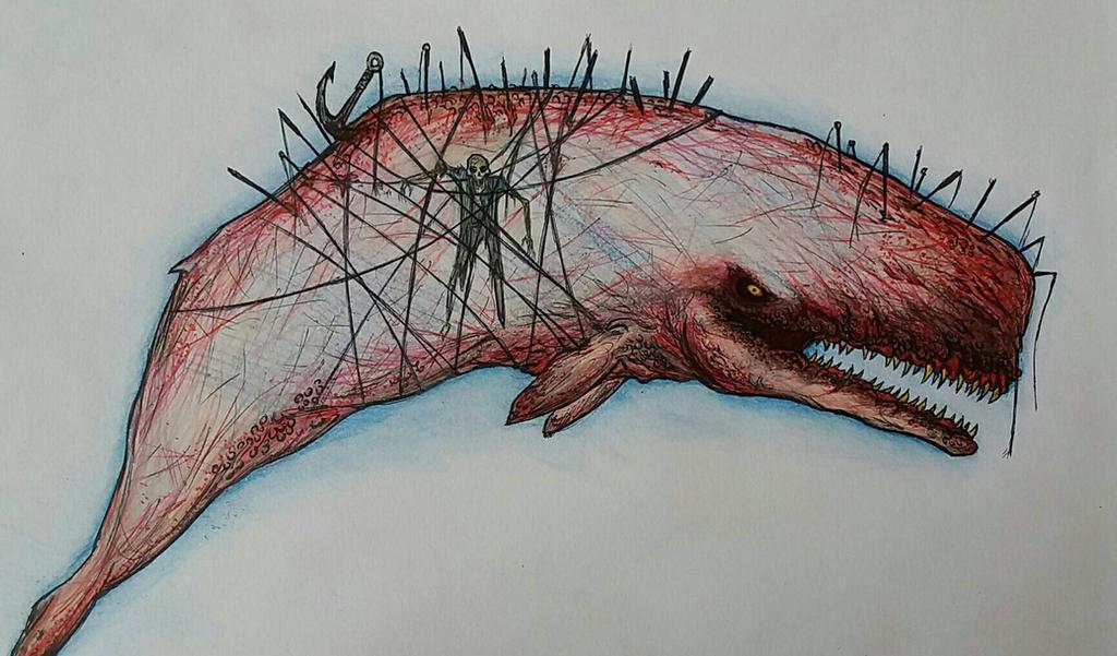 Moby Dick by mistercrane09