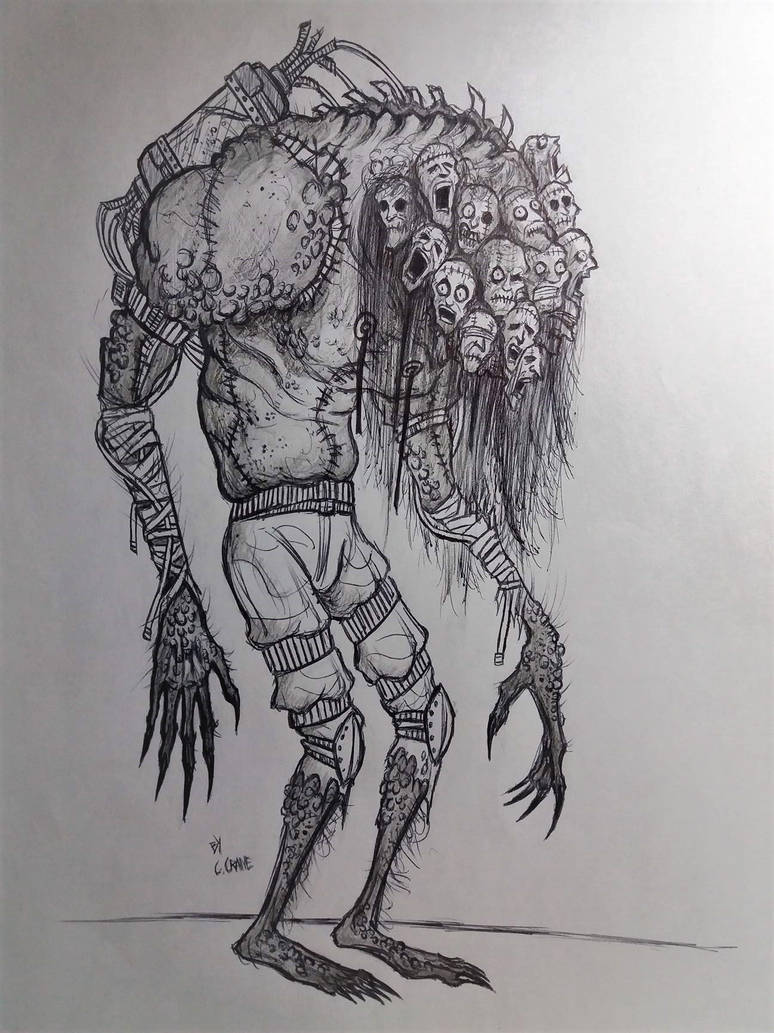 Experiment #400:  Argus-beast by mistercrane09