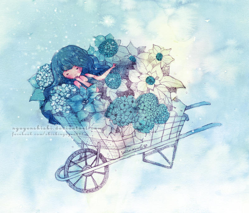 Hydrangeas (5) by nguyenshishi