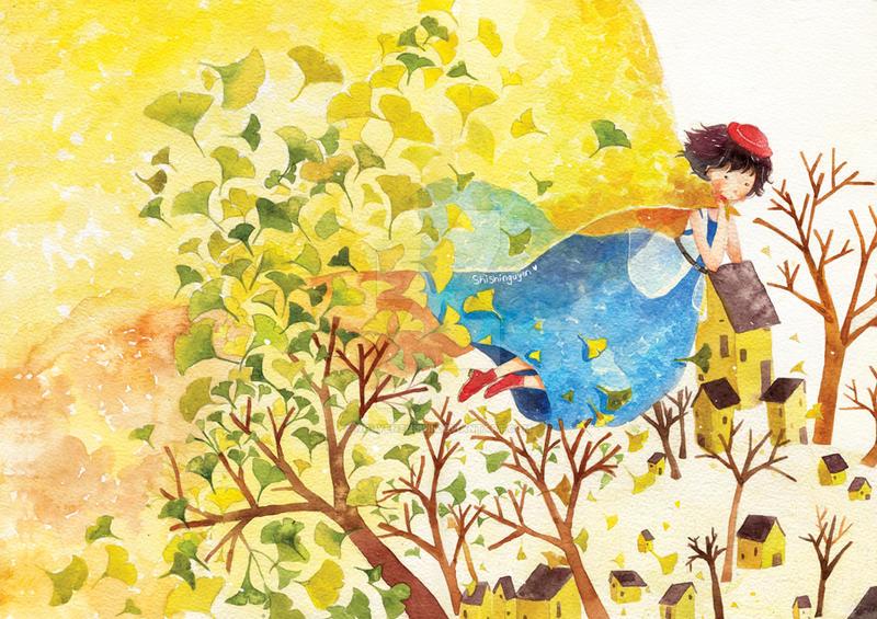 Autumn is coming by nguyenshishi