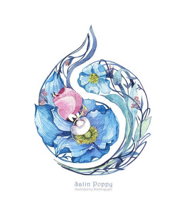 Satin Poppy by nguyenshishi