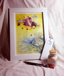 Sparrow by nguyenshishi