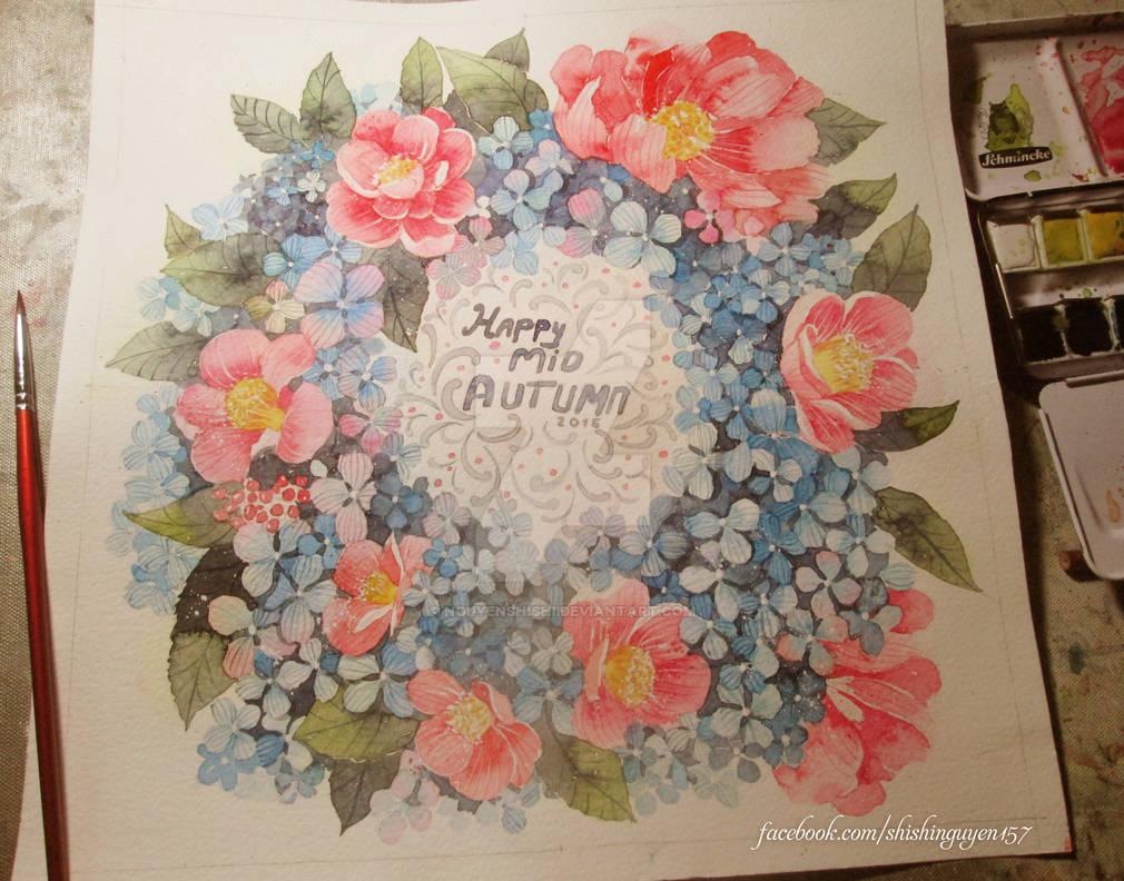How to Paint Flowers: Hydrangea vs Camellia