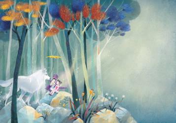 Children book illustration_The fairy tales
