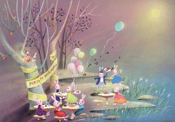 Children book illustration_The fairy tales 2