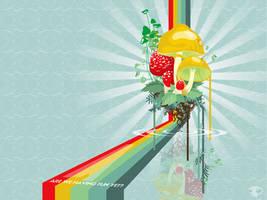 Trippy Rainbow by shawnrjohnson