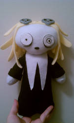 Lenore The Cute Little Dead Girl Plush by TiffyyyCuppyCake
