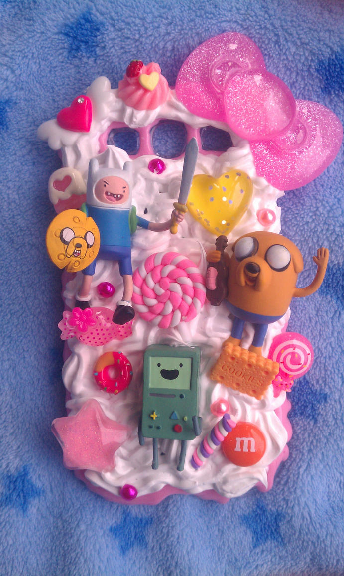 Finn Jake and BMO Phone Case by TiffyyyCuppyCake