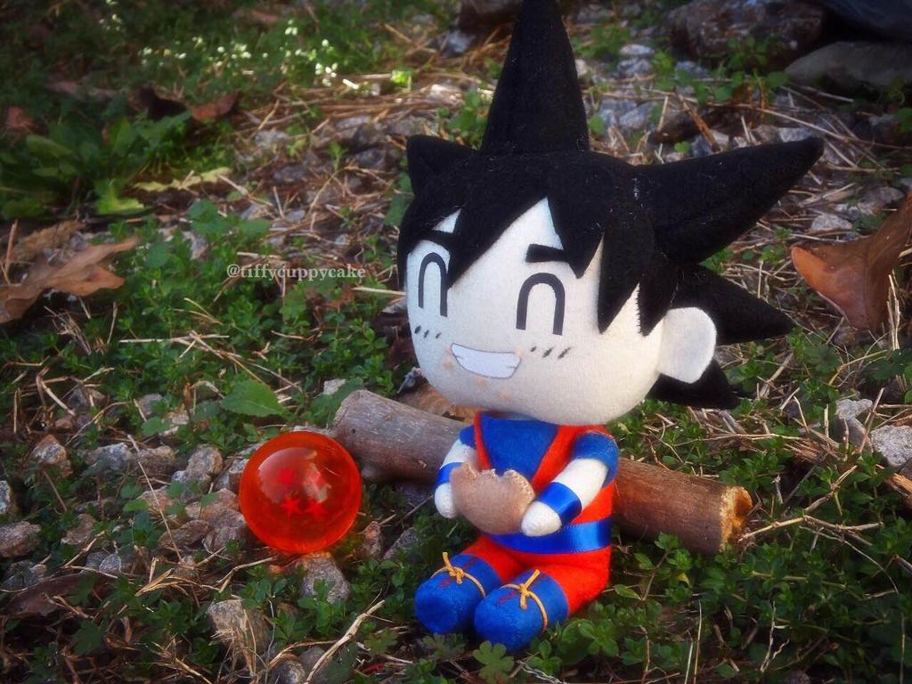 Cute little Goku plush by TiffyyyCuppyCake