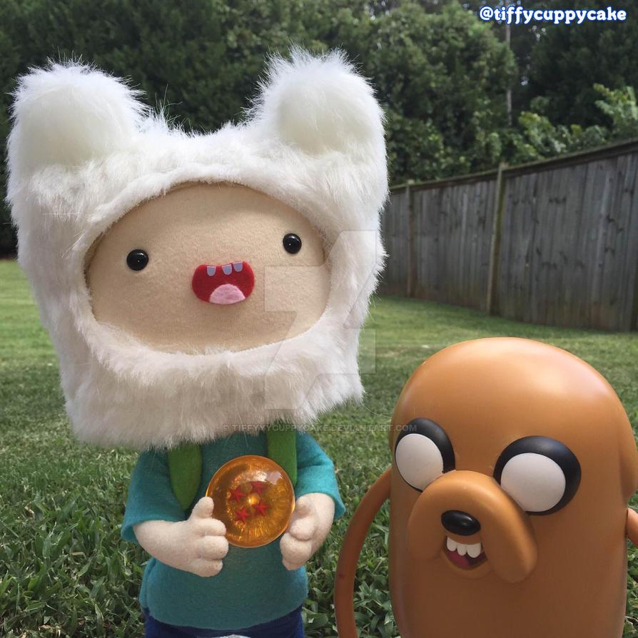Finn and Jake find a Dragon Ball by TiffyyyCuppyCake
