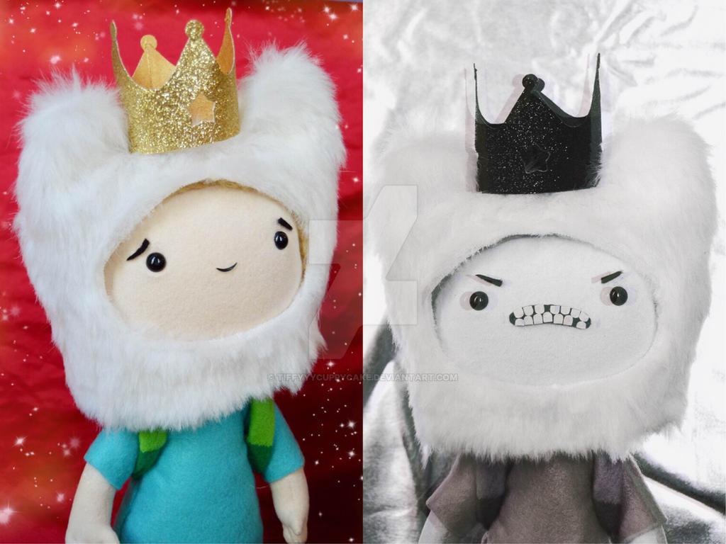 Good King vs Bad King by TiffyyyCuppyCake