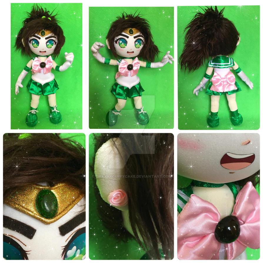 Sailor Jupiter Doll by TiffyyyCuppyCake
