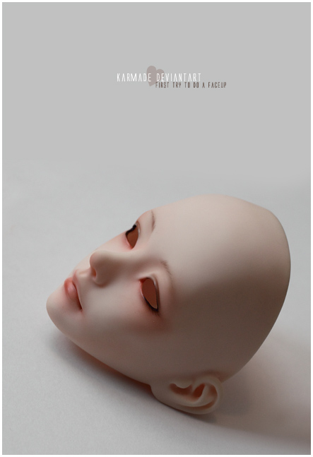 omg first faceup :0 by Karmade